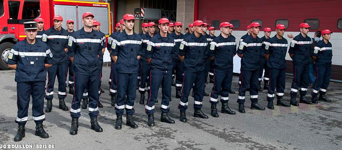 devenir sapeur-pompier professionnel - sdis 06
