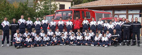 Sdis 06 jeunes sapeurs pompiers ils sont 34 postuler - Grille indiciaire adjudant sapeur pompier professionnel ...